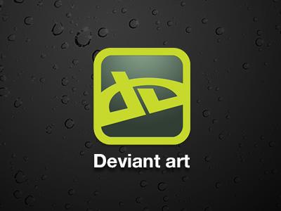 deviantART concept app deviant art deviantart app application mobile iphone android fan concept