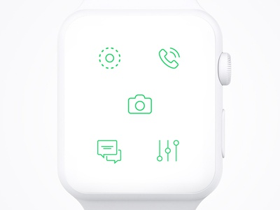 Whatsapp / Apple Watch UI - Options