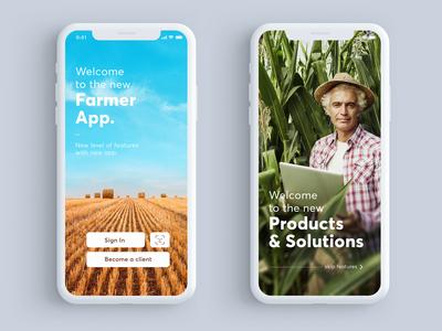 Farmer App UI Design