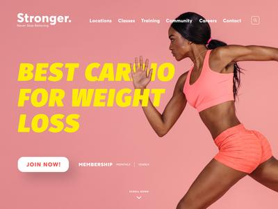 Stronger / Fitness Center #01