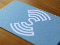 Sound Music Cities icon & business card