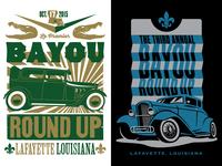Bayou Round Up illustrations