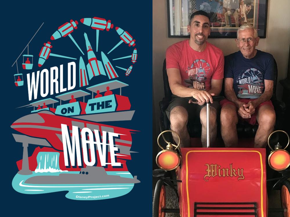 World On The Move merch design illustration design
