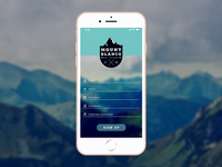 Sign Up Daily UI #001