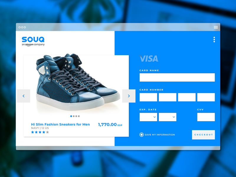 CheckOut Daily UI #002 dailyui ux challenge payment visa souq adobexduikit adobexd shopping ecommerce web screen ux checkout form checkout ui elements uidesign
