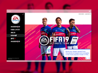 Landing page- Daily UI #003 adobexd mangoline challange ux daily ui 003 daily 2019 fifa webdesign ui  ux design ui  ux ui
