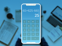 Calculator Daily UI #004 app app apps application calculator app daily 100 challenge ux challenge ui  ux design uichallenge ui 100 ux design ux  ui mangoline iphonex uichallange ux ui  ux ui calculator