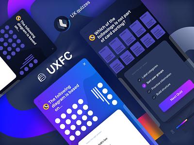 UX flashcard dashboard - Quizzes web dashboard ux ui typography logo illustration icon flat design branding app
