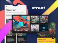 Ui Kit Pages - Street Art