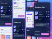 UX Books   Quick Buy   My Shopping Cart Screens 1x