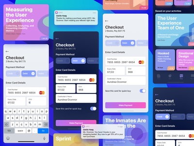 Buy Books - Checkout To Payment Page - light & dark theme education ecommerce shop books payment checkout iphone iphonex ios interface sketch branding app ux design ui