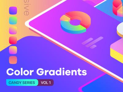 Color Gradients Candy Series Vol 1 Creative Market