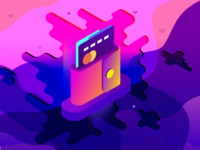 Wallet - Crypto Instant Payment - Spot Illustration