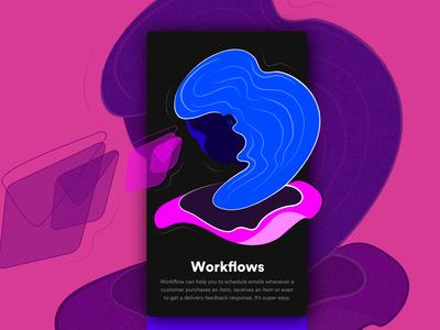 Onboarding - Workflow illustration