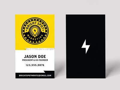 Brightspot Marketing Business Cards