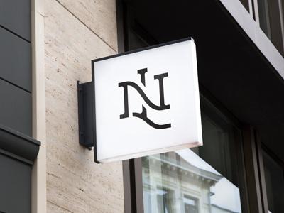 NL Logo WIP serif logo monogram type l n