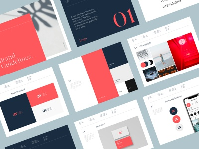 Brand Guidelines Alice Vincent identity guideline guidelines branding marketing logotype logo design dots corail consulting logo consultant clean design av a