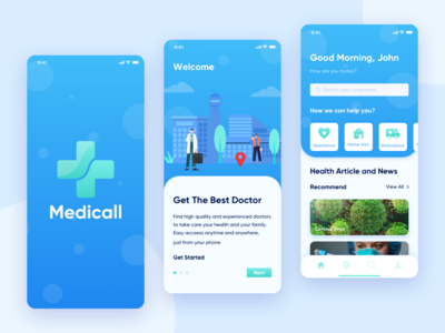 Medicall Apps - Doctor Assistance Aplication
