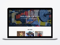 Fitness Studio Website