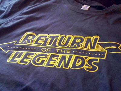 T-shirt Return of the Legends