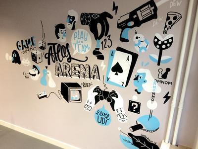 Atlassian Mural 1