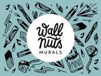 Wallnuts murals logo