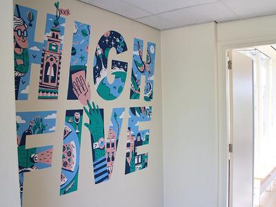 Mural Atlassian High Five