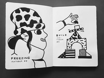 Inktober 2019 doodle sketch illustration posca drawing inktober2019 inktober