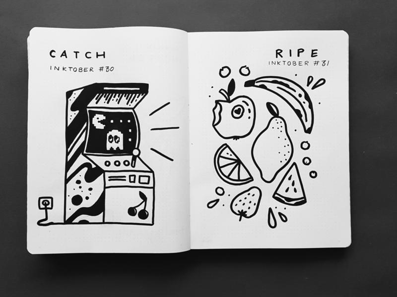 Inktober 2019 posca sketchbook doodle illustration drawing sketch inktober2019 inktober