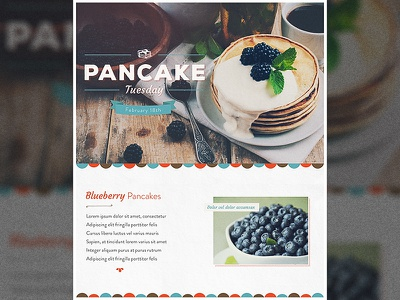 Pancake Tuesday Look & Feel typography type logo vintage retro tuesday pancake