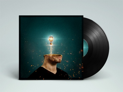 """""""Pedro"""" Album Cover Draft up mock cover design record album"""
