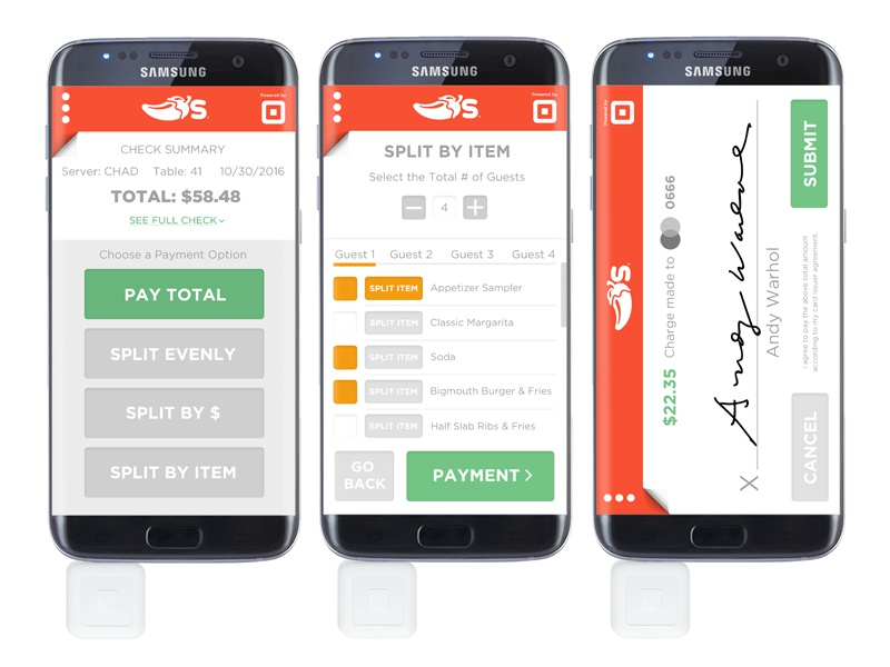 Easy Restaurant Payment App Concept by Sean Brice on Dribbble