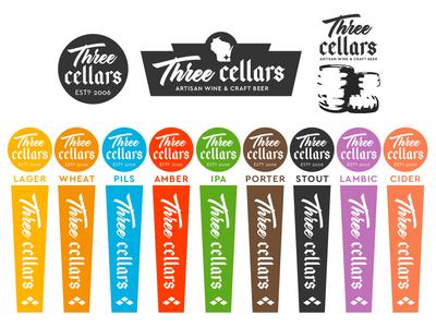 Three Cellars Logo Redesign
