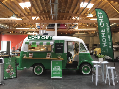Home Chef Food Truck & Signage