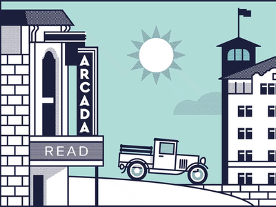 St. Charles Library Mural Concept