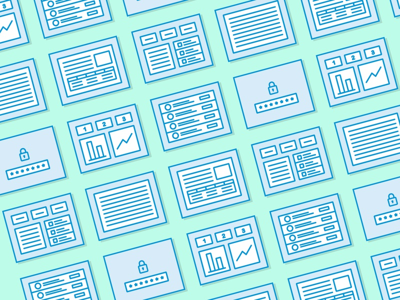 Wireframe Icons wireframe iconset icons