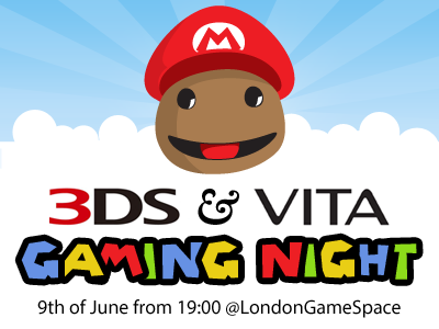 Gamingnight event london londongamespace public portable gaming
