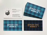 Hemlock State Business Card