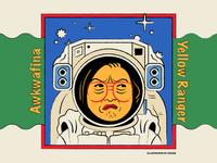 Awkwafina - Yellow Ranger