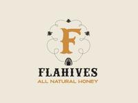 Flahives Honey Logo Comp