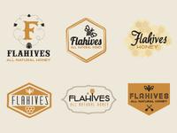 Flahives Honey Logo Exploration