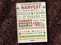 Harvest Benefit Invite