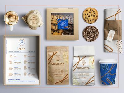 Coffee house – 130 Line Icons