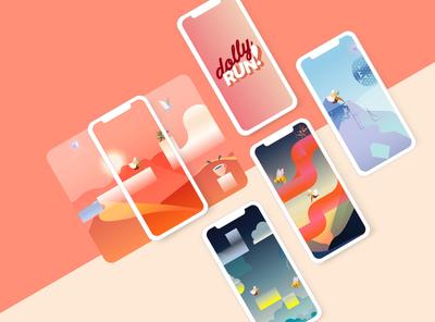 Dolly Run app