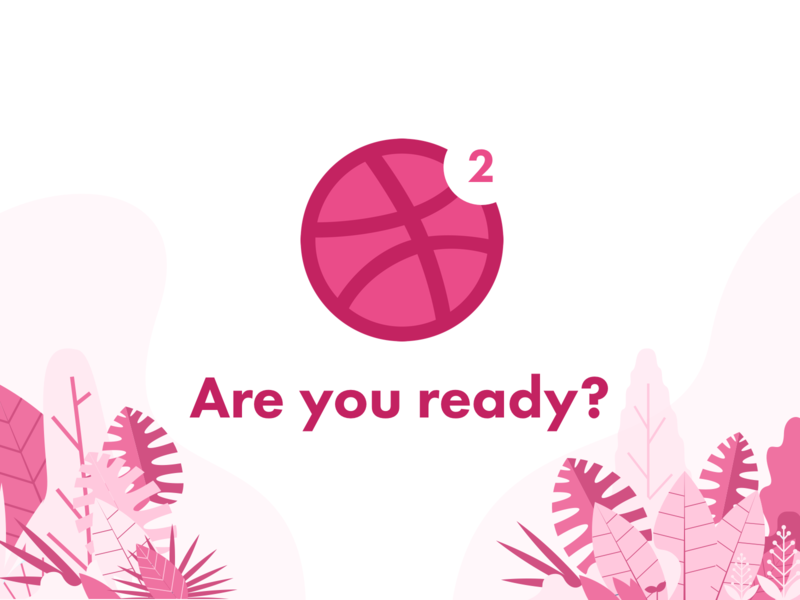 Are you ready? illustration sydorov dribbble invite giveaway invite giveaway invite giveaway