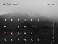 BURNS OFFROAD — Travel app for brave men