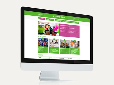 Webdesign Website Kidsproof