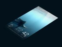 Jolla : Sailfish OS - Redesign - Part 1 - The Lock Screen