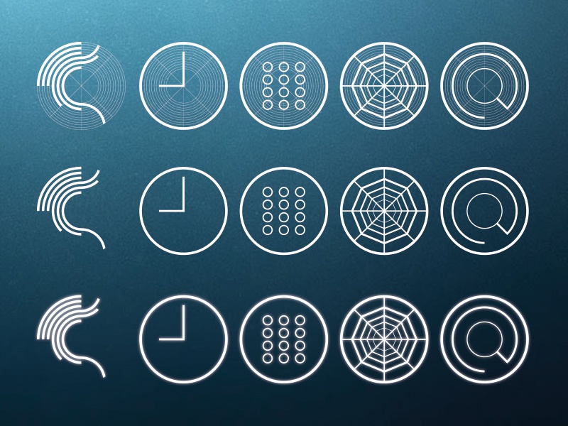 Jolla : Sailfish OS - Redesign - Part 2 - Icons jolla sailfish os redesign ui ux erik westerdahl concept icons part 2 minimalistic outlined