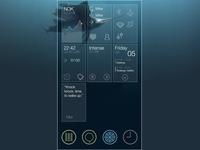 Jolla : Sailfish OS - Redesign - Part 4 - Main Screen